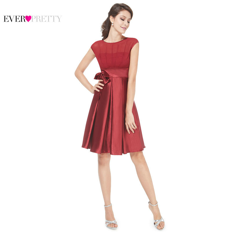 [Clearance Sale] Ever-Pretty Women Sexy Cocktail Dresses A-Line Sleeveless Empire Waist Short Party Dress Fashion Summer Dress