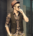 Slim Chaleco Hombre casual Sleeveless Waistcoat Suit Mens Dress Suit Vest Male British Style Woolen Single breasted Vintage vest