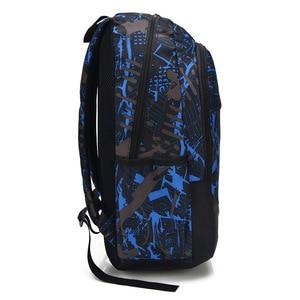 Image 2 - الرجال حقيبة كتف الاتجاه الترفيه طالب حقيبة مدرسية عادية زيبر لينة مقبض أكسفورد حقائب الظهر ZF9832