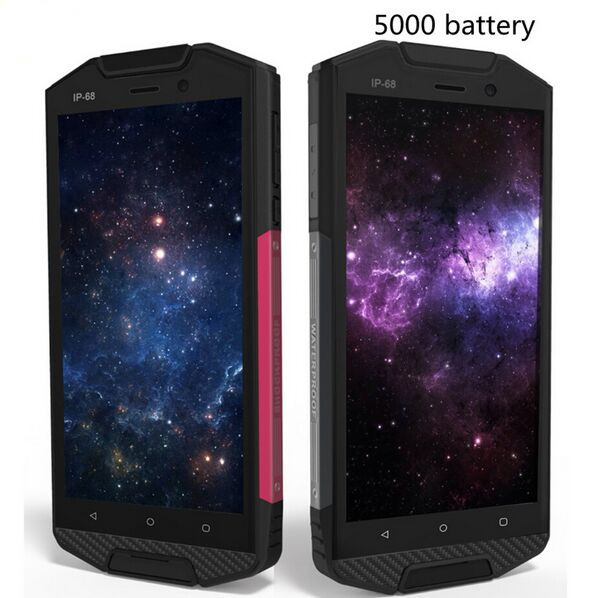 Original Guophone T5 Waterproof IP68 Shockproof Smartphone 5000mAh Android 6 0 Quad Core 4G Lte 2GB