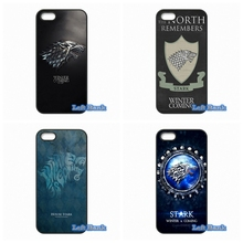 Games of Thrones House Stark Hard Phone Case Cover For Huawei Ascend P6 P7 P8 Lite P9 Mate 8 Honor 3C 4C 6 7 4X 5X G7 G8 Plus