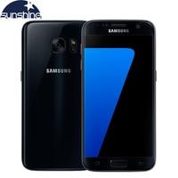 Original Samsung Galaxy S7 4G LTE Mobile Phone G930V G930F 5 1 Inch 4G RAM 32G