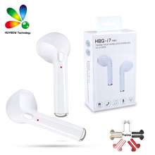 f07485e0610 10pcs/Lot Original HBQ i7 TWS Twins True Wireless Earbuds Earphone Mini  Bluetooth V4.