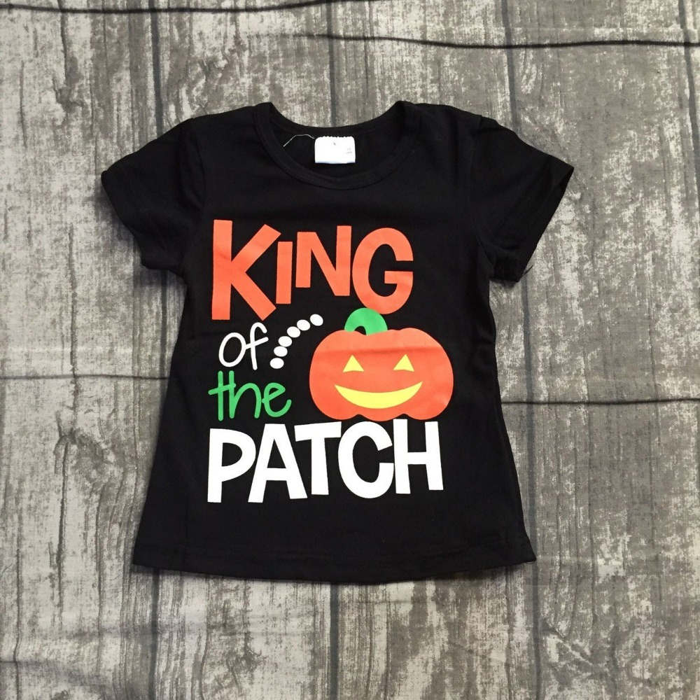 thanksgiving baby boy boutique top t shirts clothes black pumpkin
