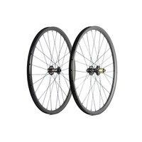 Spcycle 29er Carbon MTB Bicycle Wheels 29er Mountain Bike Carbon Wheelsets Novatec 791/792 Hubs Front 15mm Rear 12mm Thru Axle