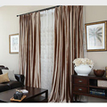 New velvet blinds shinny fabric curtain for livingroom silver GIGIZAZA black out custom size shade american style for bedroom