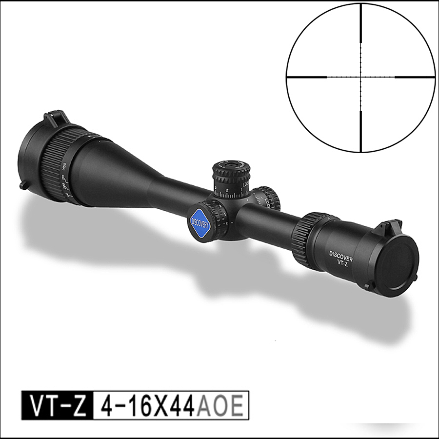 Optics Tactical Discovery VT-Z 4-16X44 AOE Riflescope Mil Dot Reticle Optical Sight Hunting Rifle Scope discovery rifle scope vt z 3 12x44sf large hand wheel side focusing tactical differentiation outdoor optical sight