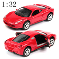 Free shipping Cheap cars, High simulation Supercar, world's cars 1:32 alloy pull back model car, open the door,Diecast cars