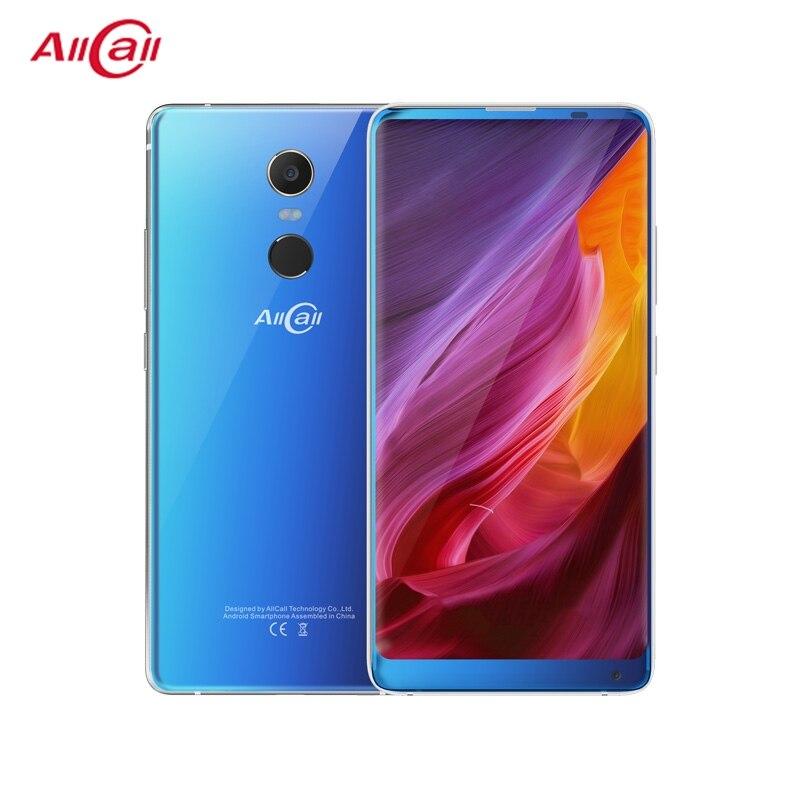 AllCall MIX 2 4G мобильный телефон Face ID беспроводной заряд отпечатков пальцев 18:9 2160*1080 FHD + 6 ГБ + 64 Гб 8-Core 16MP + 8MP смартфон
