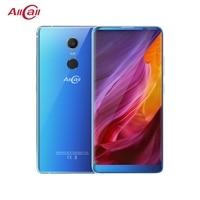 AllCall MIX 2 4G мобильный телефон Face ID беспроводной заряд отпечатков пальцев 18:9 2160*1080 FHD + 6 ГБ + 64 Гб 8 Core 16MP + 8MP смартфон