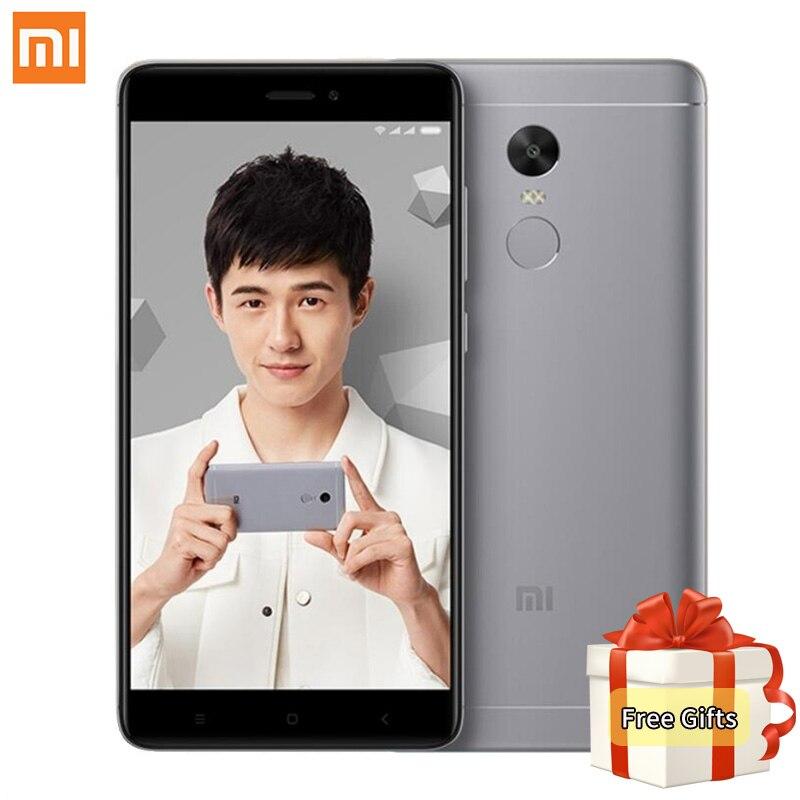 Original Xiaomi Redmi Note 4X Mobile Phone 3GB RAM 32GB ROM Snapdragon 625 Octa Core 5
