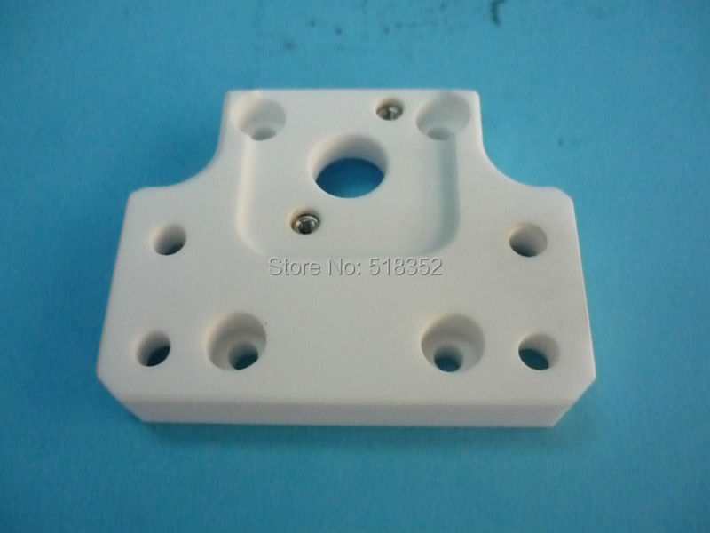 Sodick Upper Insulation Board 80 x 50 x T13mm, Isolator Plate for DWC-AQ, 327, 537, 550L, 560 WEDM-LS Wire Cutting Machine Part chmer machine head ceramic insulation board isolation isolator plate 110 12mm wedm ls wire cutting machine spare parts