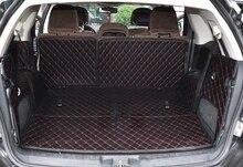 Самое лучшее качество! специальный автомобиль магистральные коврики для Fiat Freemont 7 мест 2017-2012 водонепроницаемый грузового лайнера коврики загрузки ковры, Бесплатная доставка