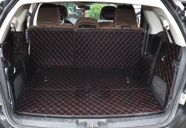 Special Car Trunk Mats For Fiat Freemont Seats   Waterproof Cargo