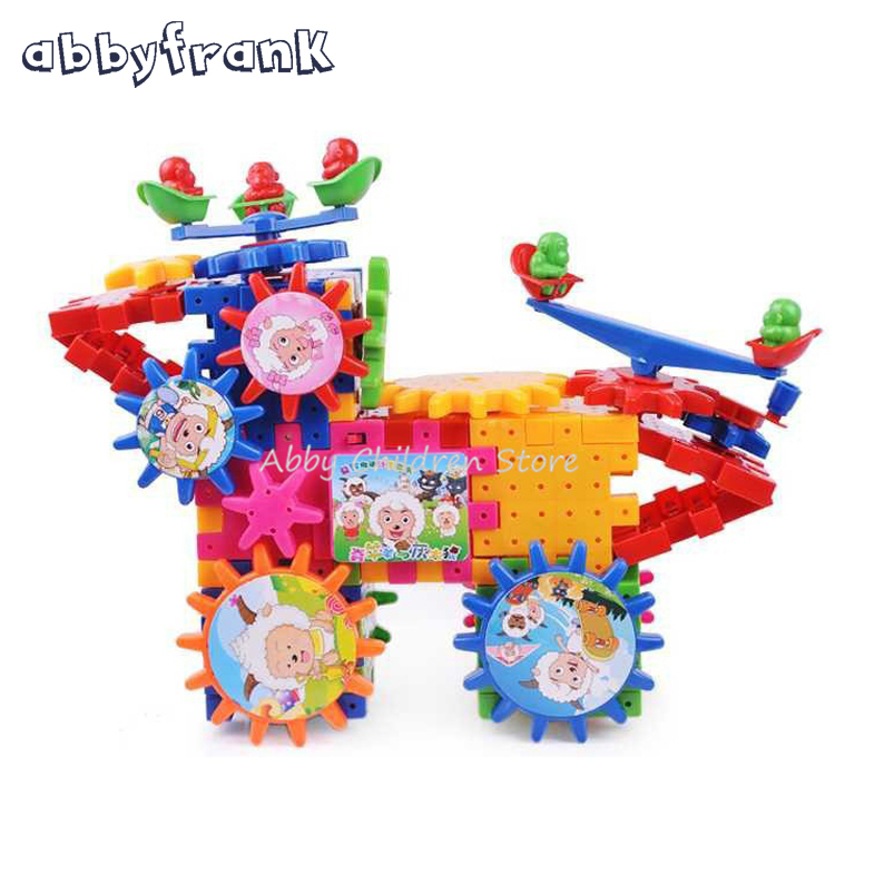 new new hot toy creative gear toys electronic building diy 3