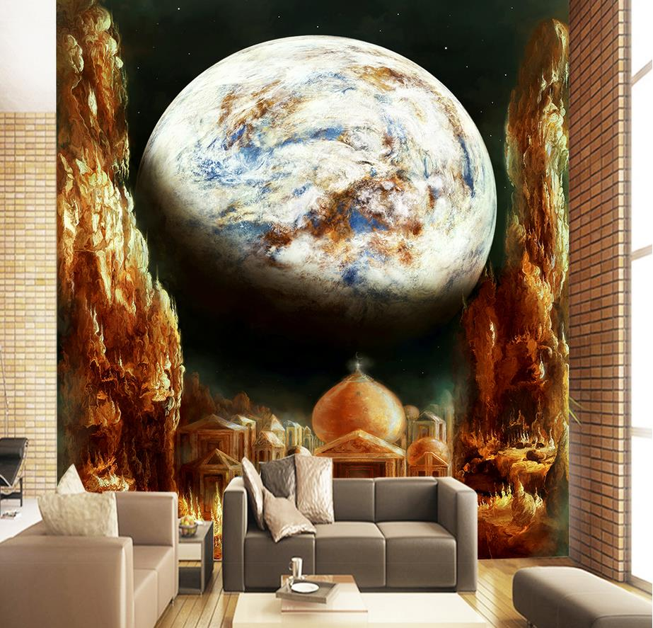 Custom wallpaper for walls 3 d photo Dream Night Taj Mahal Wall wallpapers for living room bedroom 3d wallpaper wall mural custom wallpaper for walls 3 d photo wall mural pastoral country road tv walls 3d nature wallpapers for living room