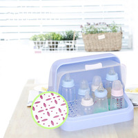 Baby Food Storage Bottle Box Plastic Container Baby Milk Bottles Multi functional Solid Feeding cleaning Save space Mother & Kid