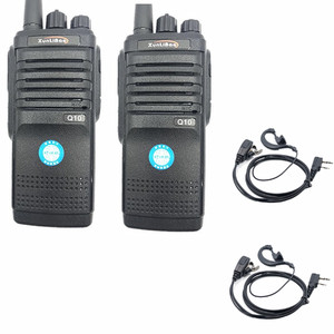Image 1 - 2PCS Q10 Walkie Talkie วิทยุสองทิศทาง UHF แบบพกพา FMR Xunlibao CB วิทยุ 10 W โปรแกรม Interphone