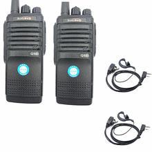 Портативная рация q10 2 шт высокомощное двухстороннее радио