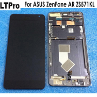 LTPro 100% Warranty Tested Working For Asus Zenfone AR ZS571KL LCD Display Touch Panel Screen Digitizer Assembly With Frame