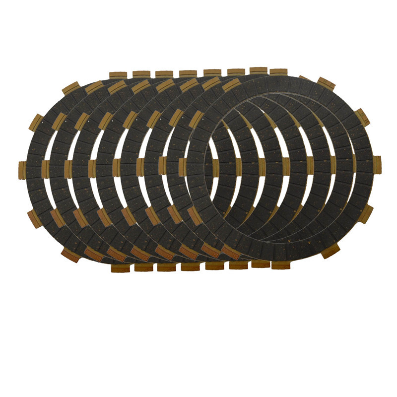 AHL Motorcycle Clutch Friction Plates /& Steel Plates Kit for Yamaha XV250