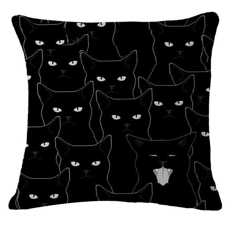 Nordic Cute Ink Black Cat Wholesale High Quality Wedding Gift