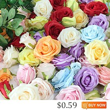 JAROWN-Artificial-High-Quality-Rose-Silk-Flower-Head-Flower-Bud-Wedding-Decoration-DIY-Flowers-Material-Home