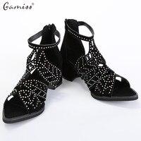 Vintage Summer Style Women Shoes Women S Sandals Platform Wedge High Heels Summer Beach Shoes Rhinestones