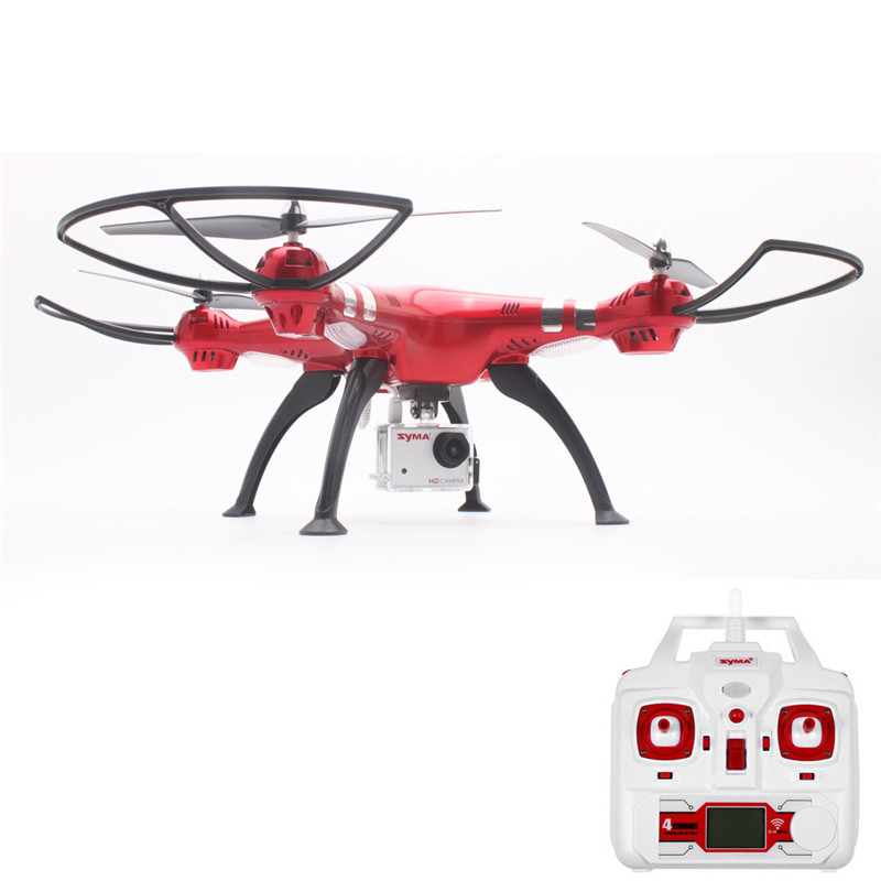 Syma X8HG RTF RC Drones Quadcopter With 8.0MP 1080P Camera hd Automatic Air Pressure High Headless Mode VS X8 PRO image