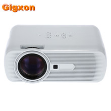 Gigxon – G80 Best Sell Mini LED Projector 1000 Lumens 1080P Full HD Contrast Ratio 1000:1 with HDMI AV TV Port Remote Controller
