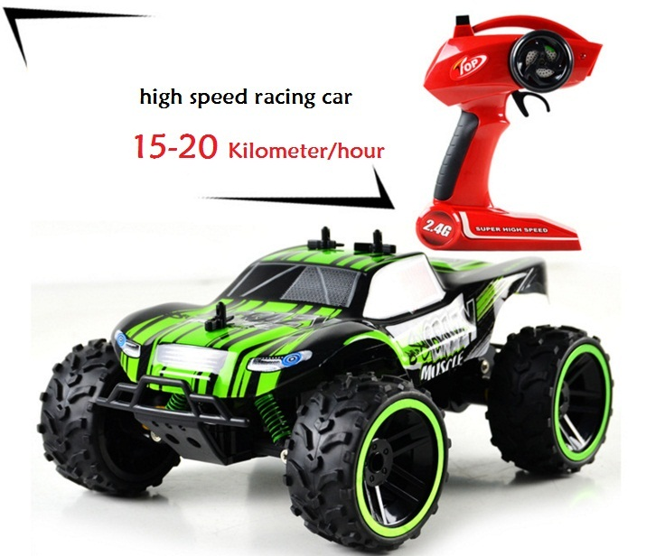 Rc Racing Car 2.4G Jeep High Speed Competition Car For