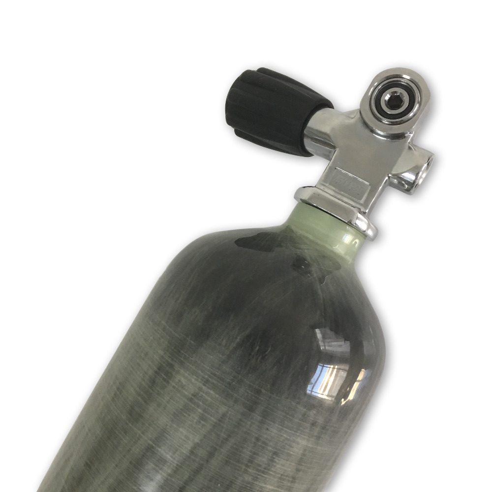 Image 3 - AC10351 HPA Outdoor SCUBA Diving Equipment Tank 3L Composite Carbon Fiber Cylinder With Yoke Diving Valve Acecare-in Paintball Accessories from Sports & Entertainment