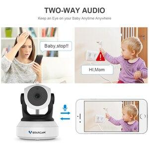 Image 2 - Vstarcam 720 P bezprzewodowa kamera sieciowa Wi Fi C7824WIP bezpieczeństwa Baby Monitor sieci IP domofon aplikacji telefonu komórkowego Night Vision Camera