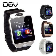 OGV 2018 fashion new smart watch DZ09 and SIM card slot pedometer smart camera record sleep