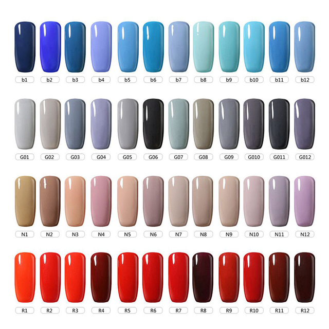 Belle Fille cielo azul UV uñas esmalte UV LED rojo vino Color carne desnuda  remojo Gel fde4bcc0bee