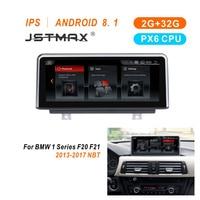 JSTMAX 10,25 ips 2 + 32G Оперативная память Android 8,1 PX6 стерео для BMW 1 2 серии F20 F21 F23 Cabrio gps Navi WI FI BT ips сенсорный экран