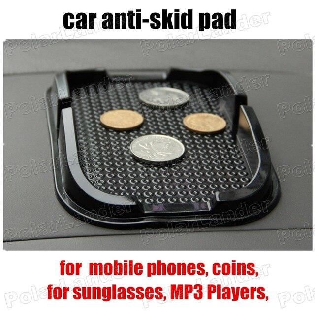 Tiene objetos en tablero de prueba Anti Skid Sticky Pad antideslizante Interior del coche estera titular para teléfonos móviles monedas reproductores de MP3