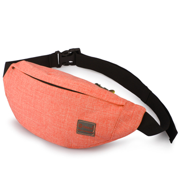 Patchwork Runner Waist Pack Belt Pouch Polyester New Nylon Waist Packs Leg Bag Waterproof Girls Cotton Pouch Crossbody Chest Bag