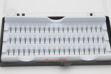 1 CASE Professional 0 15C Curl 8 10 12MM Natural False Eyelashes Extension Makeup Tool Soft