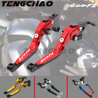 CNC Motorcycle Folding Extendable Clutch Brake Levers For Honda CBR 600 CBR600 F2 1991 2007 2006 2005 2004 2003 2002