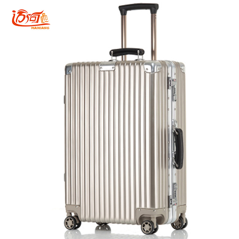 aluminium suitcases travel trolley with tsa lock crash proof wheels for suitcases water proof. Black Bedroom Furniture Sets. Home Design Ideas