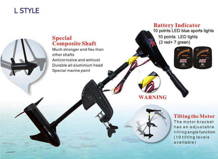 Engine Noiseless Electric Outboard Motor for Sale Marine Propulsion Motor  Outboard Engine Propeller Plane Hanging Boat Thruster