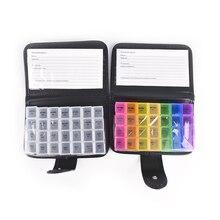 2 Colors Travel 7 Days Weekly Pill Medicine Box 7 Day Pill Wallet Dispenser Tablet Holder Organiser