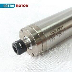 Image 5 - ¡Envío a la UE! Motor de husillo de metal tallado resistente al agua, 2,2 kW ER20 de alta calidad, husillo refrigerado por agua de 220V, MOTOR de mimbre CNC