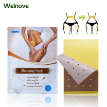 12Pcs/Bag Weight Lose Paste Navel Slim Patch Burning Fat Slimming Patch Effective Slim Stickers K03501