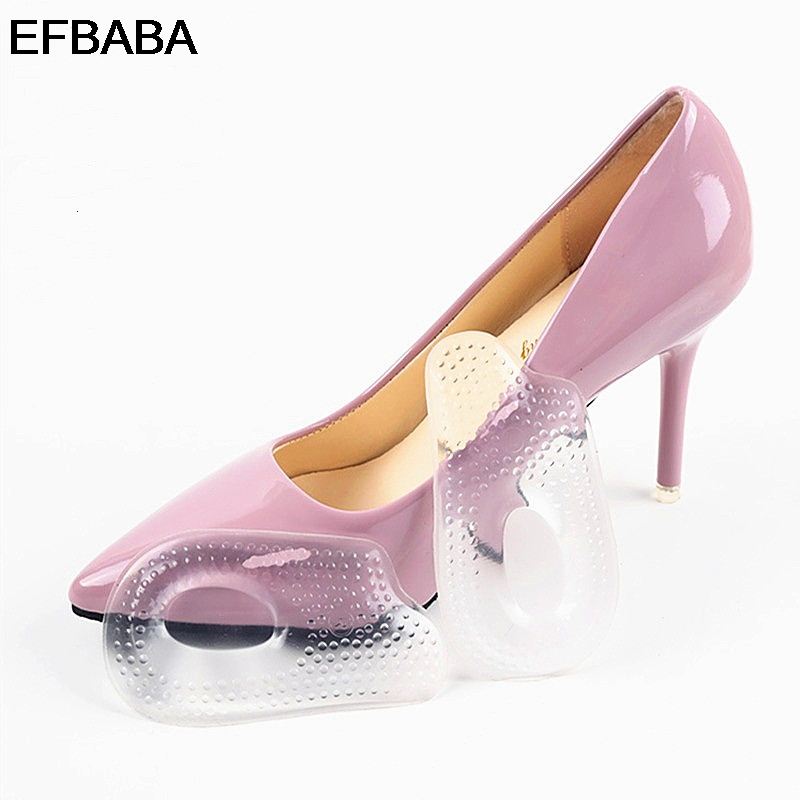 EFBABA Pads Gel Cushions Massage Shoe Pad Heel Inserts Shock Absorbing Insole Non-slip Orthopedic Shoes Insoles Accessoires kotlikoff arch support insoles massage pads for shoes insole foot care shock women men shoes pad shoe inserts shoe accessories