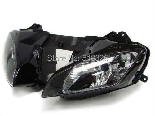Motorcycle Headlight Head light lamp Assembly For Yamaha YZFR6 YZF R6 2008 2009 2010