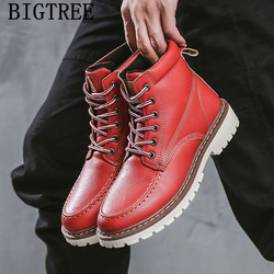 Spring Autumn Boots Men Winter Shoes Men Ankle Boots Outdoor Working Boots Timber Land Shoes Chaussure Militaire botines hombre