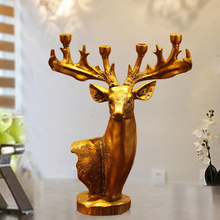 Retro Candle Holders Decorations Holder Wedding Wooden Lantern Candlestick Menorah Christmas Mumluk Container Antlers 10Y