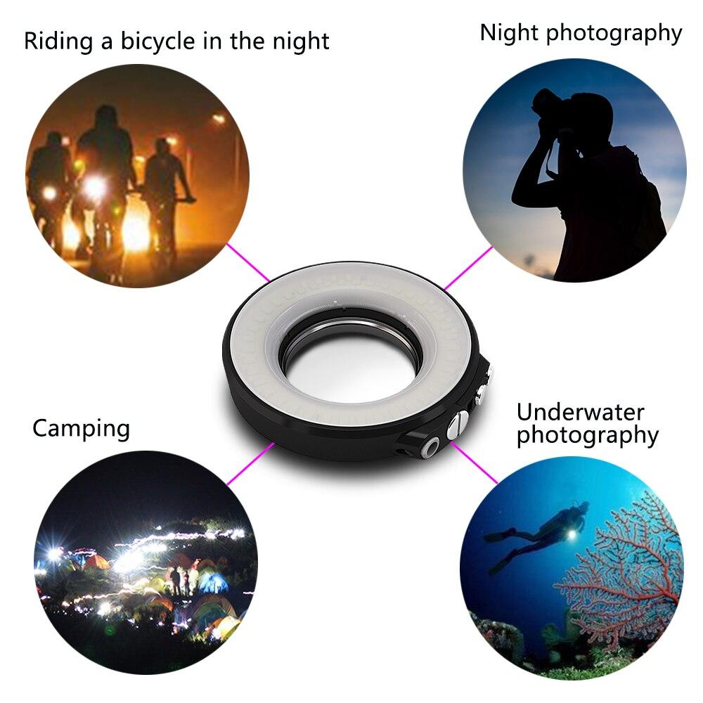SL 108 67mm Mergulho Submarino LED Ring